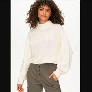 Wilfred Free Heinen Crop Sweater 100% Merino Wool